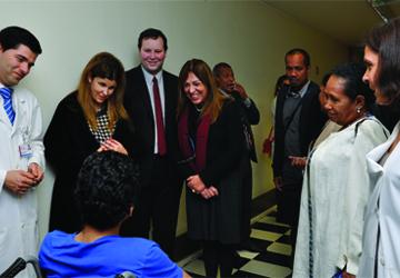 Ministra de Timor-Leste visita CMRA